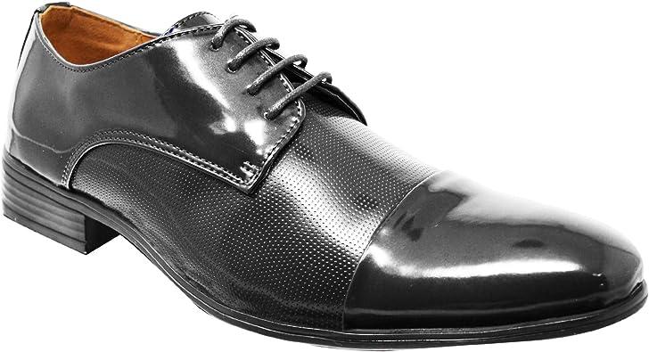 Homme Richelieu à Oxford à Lacets en Cuir Doublé Formel Chaussures Taille UK 6 7 8 9 10 11 12