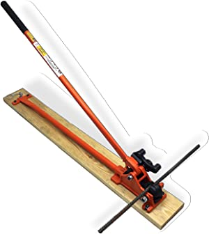 BN Products MBC-16B 1 Manual Bender/Cutter, Orange