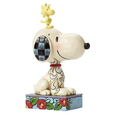 """Jim Shore Snoopy and Woodstock """"My Best Friend"""": Toys & Games"""