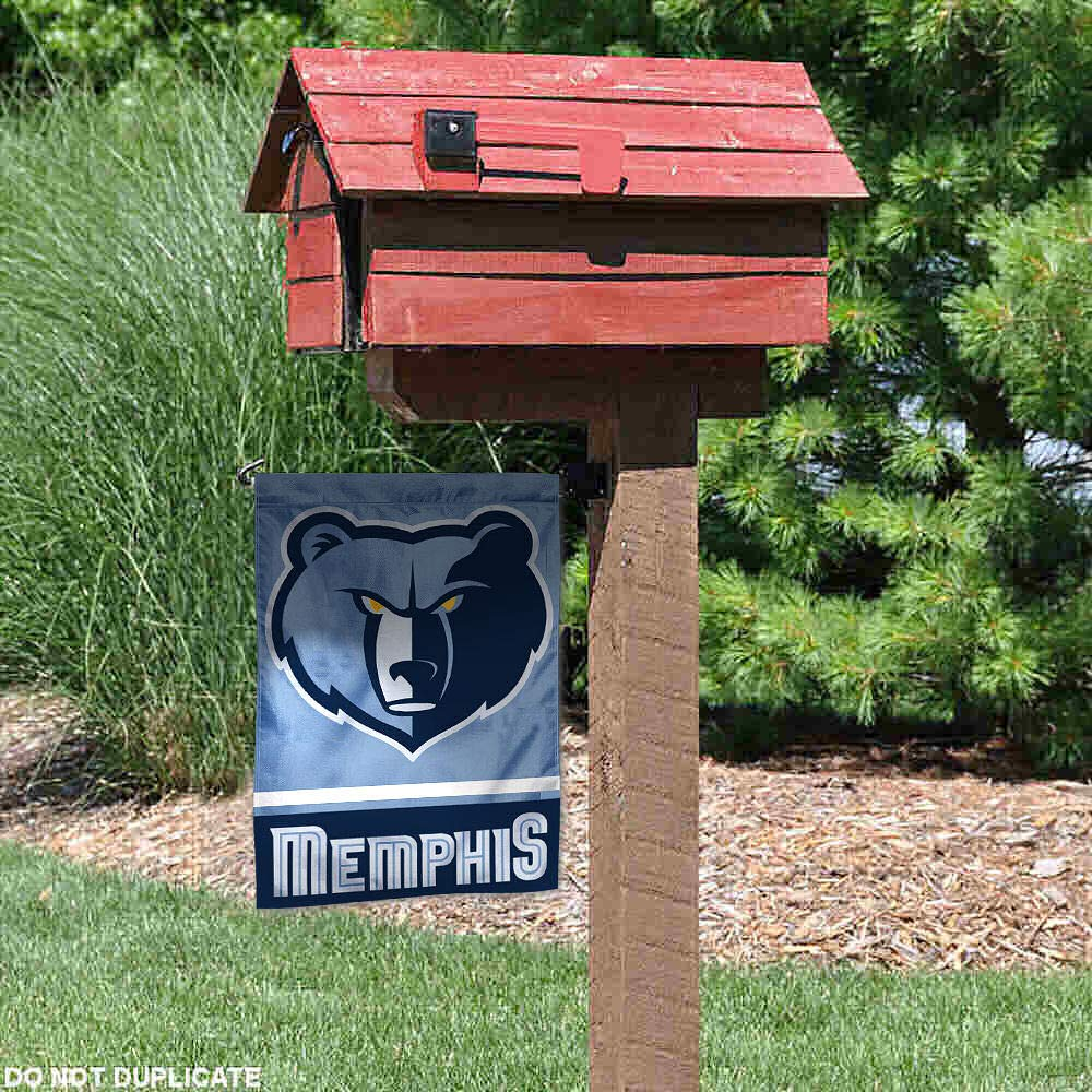 WinCraft Memphis Grizzlies Double Sided Garden Flag