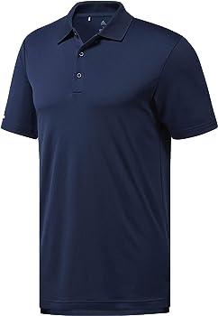 adidas - Camiseta - Manga larga - para hombre azul navy S: Amazon ...