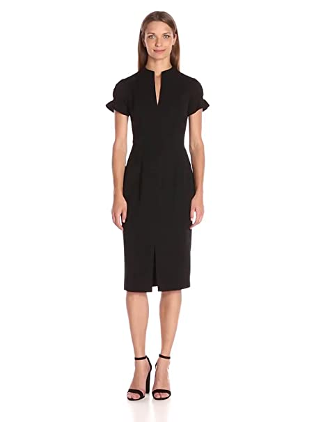2f8a5f02 Amazon.com: Black Halo Women's Patel Sheath: Clothing