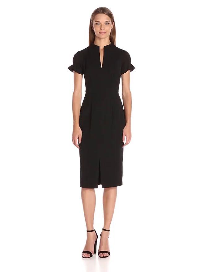 2a0c21fd Amazon.com: Black Halo Women's Patel Sheath: Clothing
