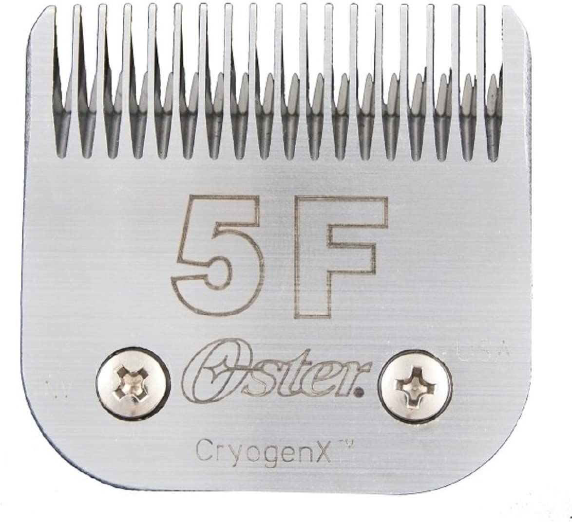 Oster Elite CryogenX Professional Animal Clipper Blade, Size 5F (078919-606-005)