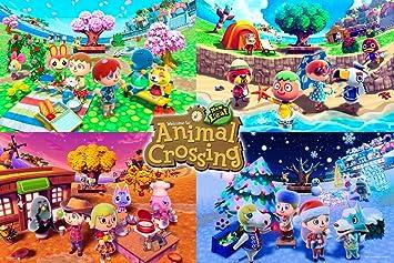 Amazon.com: Pyramid America Animal Crossing Four Seasons ...