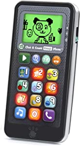 LeapFrog Chat and Count Emoji Phone, Black, Great Gift for Kids, Toddlers, Toy for Boys and Girls, Ages 2, 3, 4, 5
