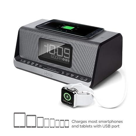 XJYA Carga Dual Sistema de Altavoces estéreo con Alarma Dual ...