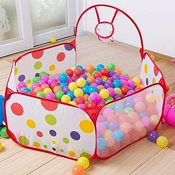 Amazon.com: Kids Indoor Pop Up Ball Play Tent,PortableFun ...