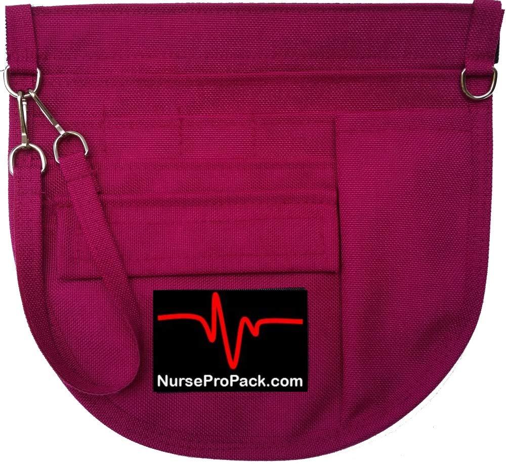 NurseProPack ProPack Medical Organizer Belt- Fuchsia- 9''x9''