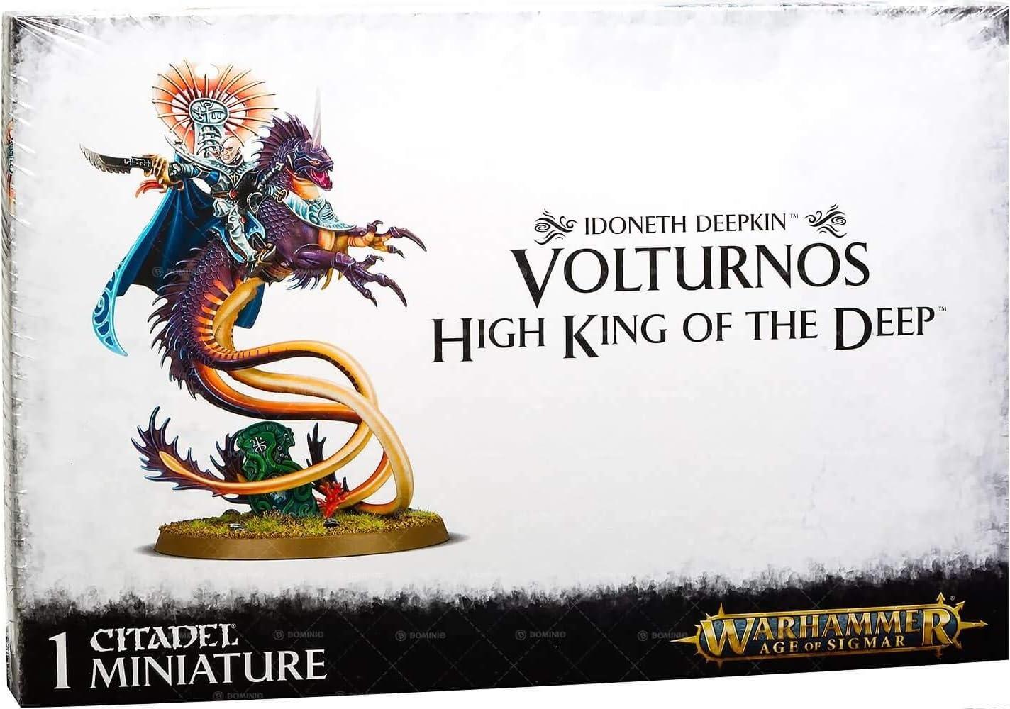 Games Workshop Volturnos High King of the Deep Warhammer Age of Sigmar