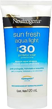 Protetor Solar Sun Fresh Aqua Light SPF30, Neutrogena, 120 ml