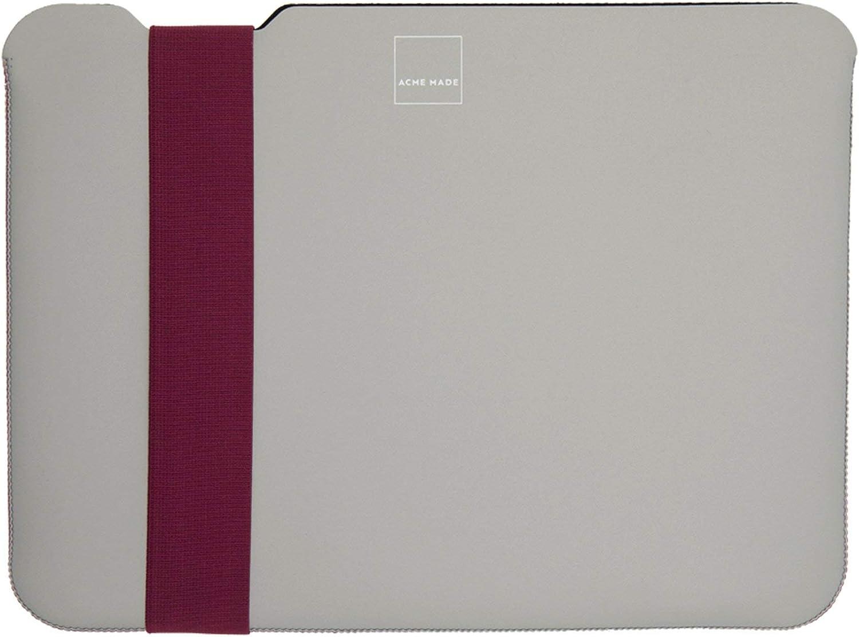 Acme Made Skinny Sleeve Small (StretchShell Neoprene) Grey/Fuchsia AM10151