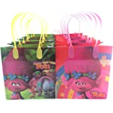 12 pcs Disney Trolls Authentic Licensed Reusable Small Party Favor Goodie Gift Bags