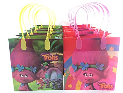 Amazon Dream Works Trolls 12 Pcs Goodie Bags Party Favor
