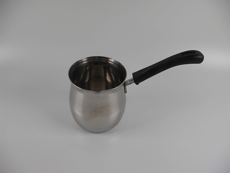 Tredoni 1L Finjan - Cafetera de acero inoxidable con estufa - Cafetera turca Cezve: Amazon.es: Hogar