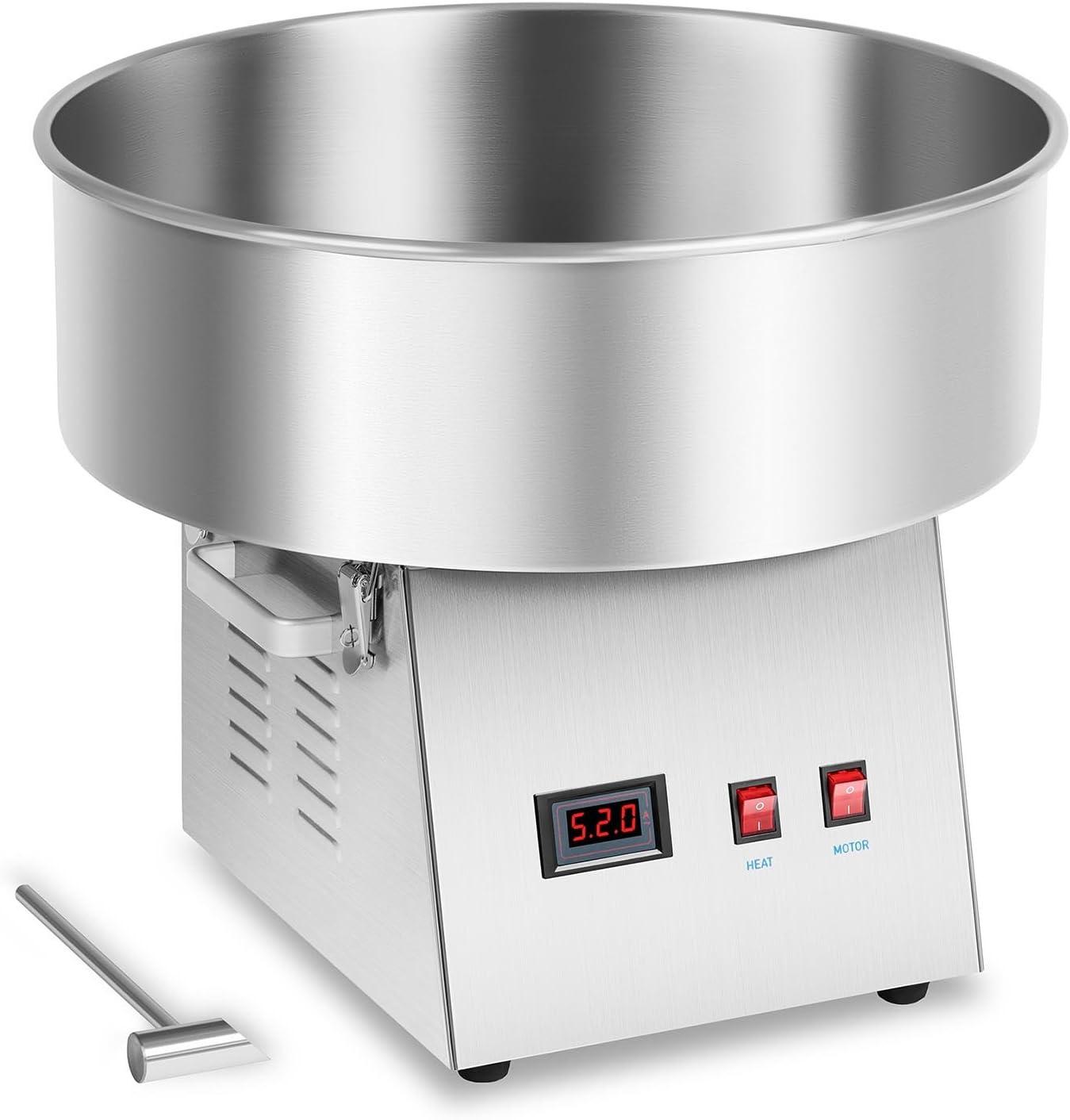 Royal Catering RCZK-1030-W Máquina de Algodón de Azúcar Industrial
