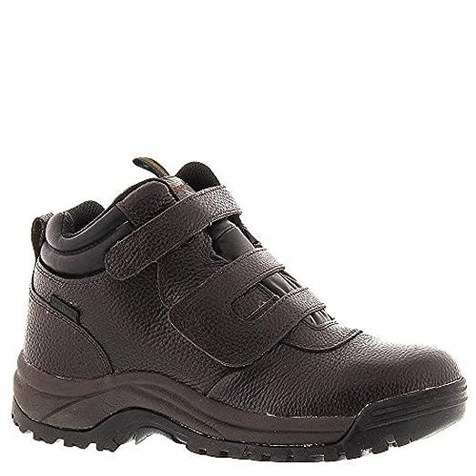 Propet Men's Cliff Walker Strap Boot Bronco Brown 11.5 X (3E) & Cleaner Bundle