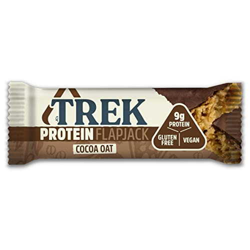 Trek – Cocoa Oat Flapjack – 50g Case of 16