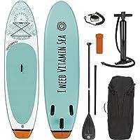 EASYmaxx SUP I need vitamin sea deska do paddleboardingu, 300 x 76 x 15 cm