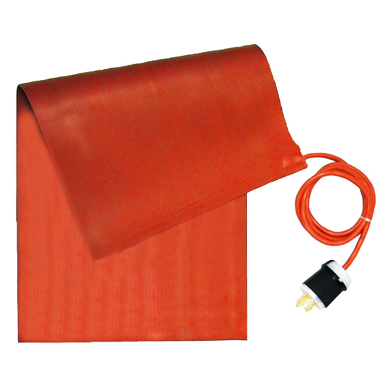 BriskHeat SRL12361 SRL Silicone Rubber Heating Blanket, Rectangular 120V, W x L: 12 x 36-Inch