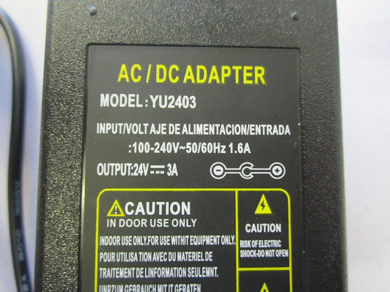 Adaptador de Corriente de 24 V CA para Cortador de Vinilo Roland Desktop | CAMM-1 Servo GX-24: Amazon.es: Electrónica