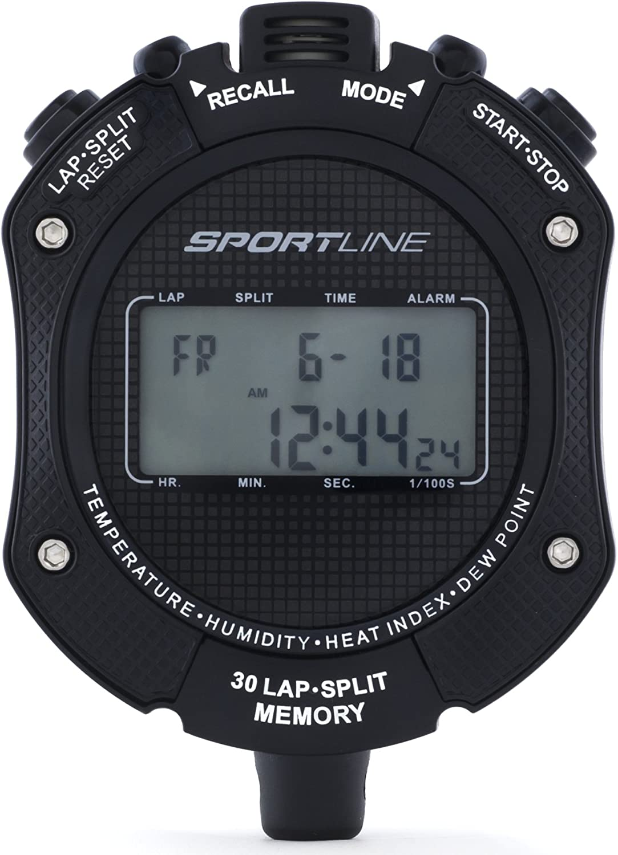490 Heat Sensor Sport Timer Displays Ambient Temperature And Dew Point Heat Index