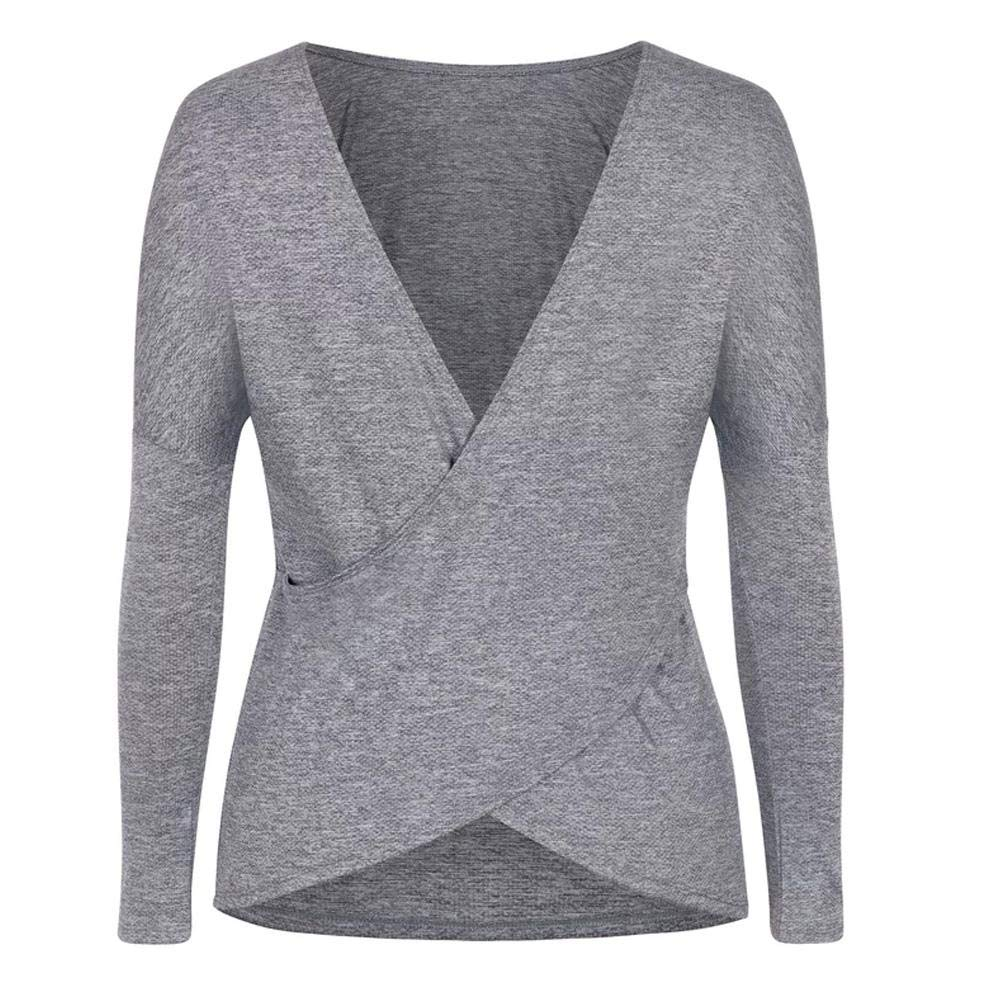 Tail Women`s Victoria Long Sleeve Tennis Top Frosted Heather