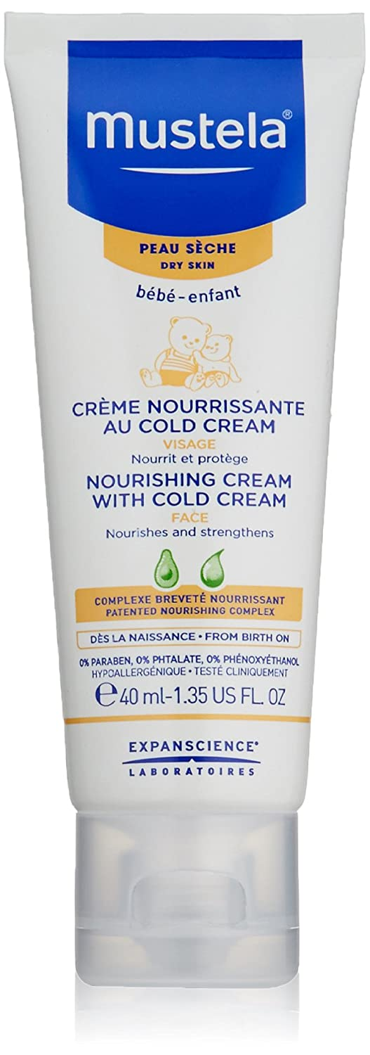 Mustela Nourishing with Cold Cream for Dry Skin, 40 ml/1.35 oz. MUSMUSC73028695