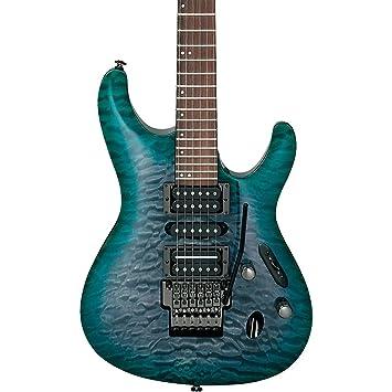 Ibanez S PRESTIGE Series s5570q Guitarra Eléctrica Verde Oscuro Doom