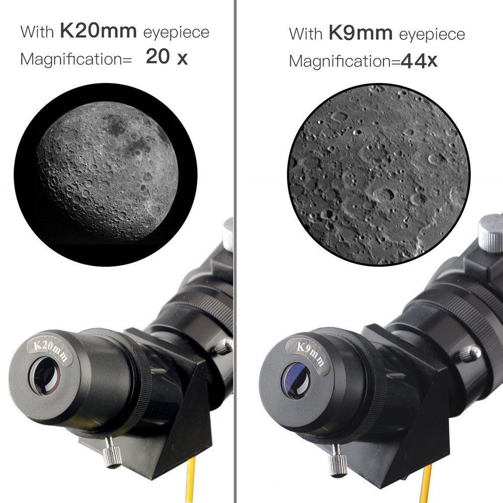 Telescopio Moutec para niños 70 mm Apeture Travel Scope 400 mm AZ Mount: Amazon.es: Electrónica