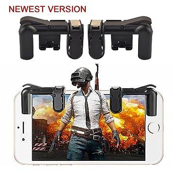 Controlador de Juegos Móvil PUBG (Última Versión), TEEPAO PUBG Mobile Mando Sensible Disparar y Apuntar Botones para Smartphone: Amazon.es: Electrónica
