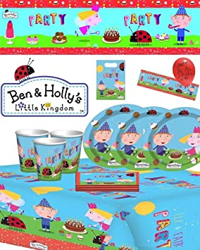 Ben Holly Little Kingdom Birthday Party Tableware Decorations Kits