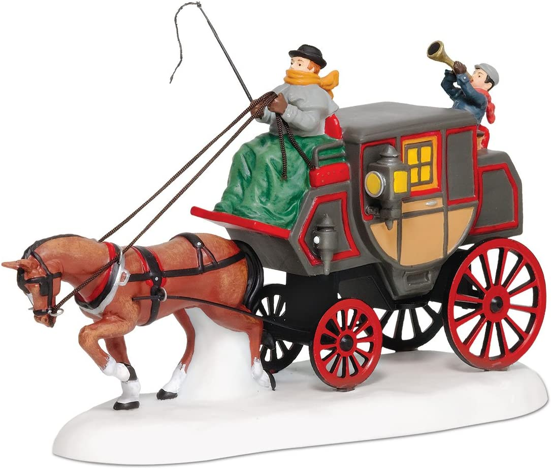 Department 56 Dickens Village Crowntree Coach Accessory Figurine