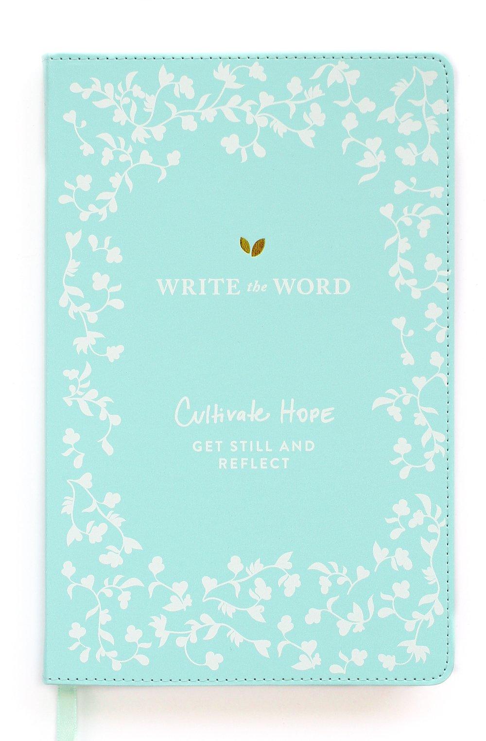 Write the Word Bible Journal: Scripture Faith Journal by Lara Casey (Light Blue) by Lara Casey Shop