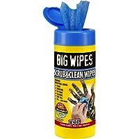 Big Wipes BGW2029 Industriella antibakteriella våtservetter (40 våtservetter)