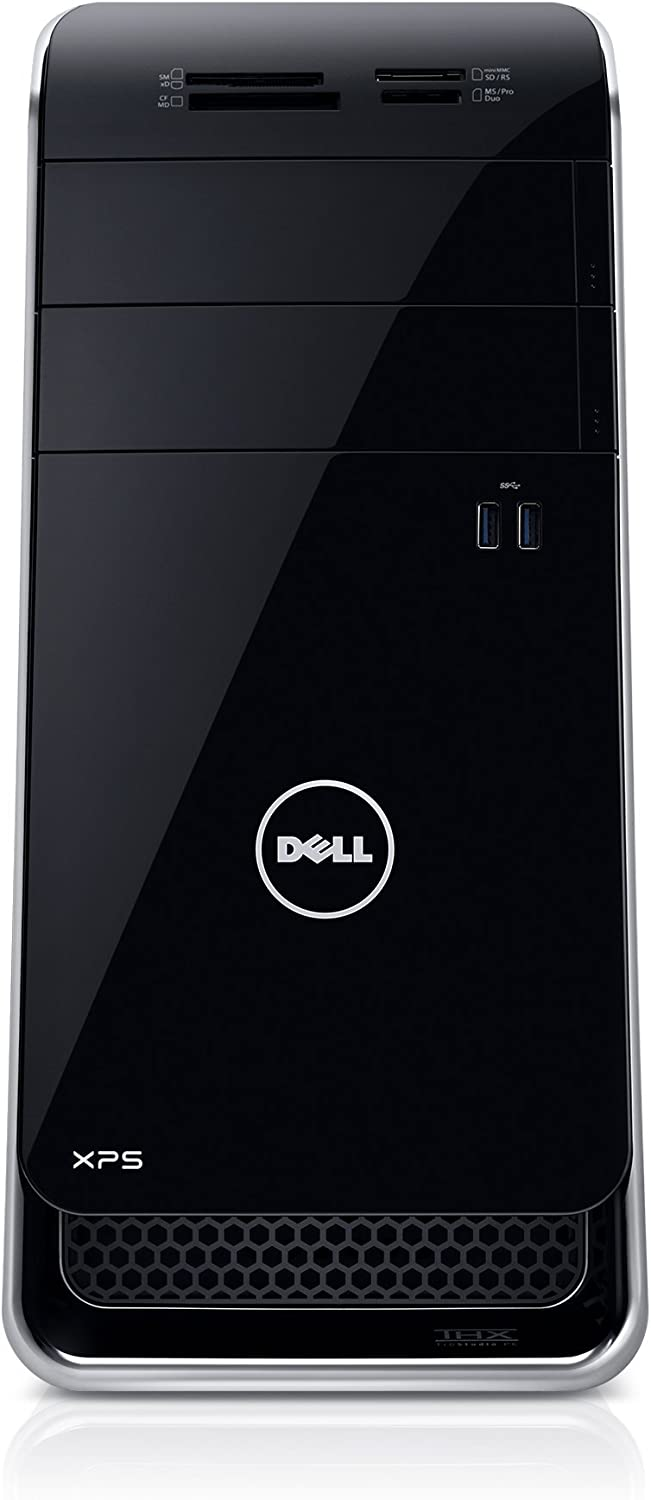 Dell XPS x8900-631BLK Desktop (6th Generation Intel Core i5, 8 GB RAM, 1 TB HDD) NVIDIA GT 730 (Certified Refurbished)