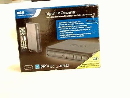 amazon com rca dta809 dtv digital tv converter box electronics rh amazon com rca atsc converter box dta809 manual Old RCA Manuals