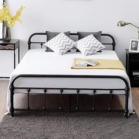 Amazon.com: Giantex - Marco de cama con plataforma de tamaño ...