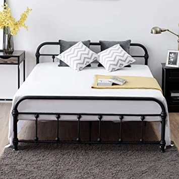 Giantex Queen Size Platform Bed Frame Metal Bed Frame With