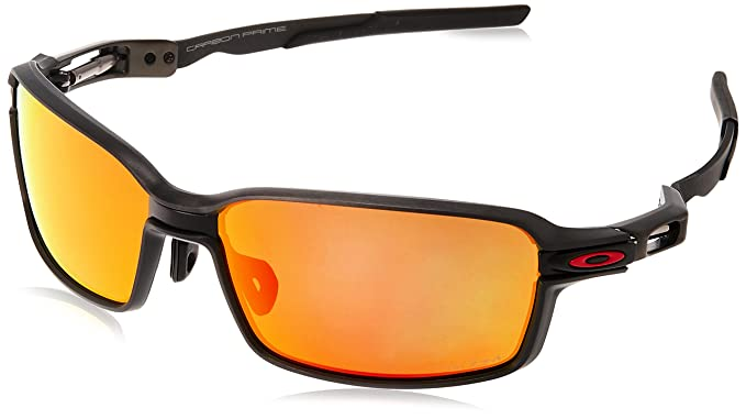 e1464dc0170 Amazon.com  Oakley Men s Carbon Prime Polarized Sunglasses