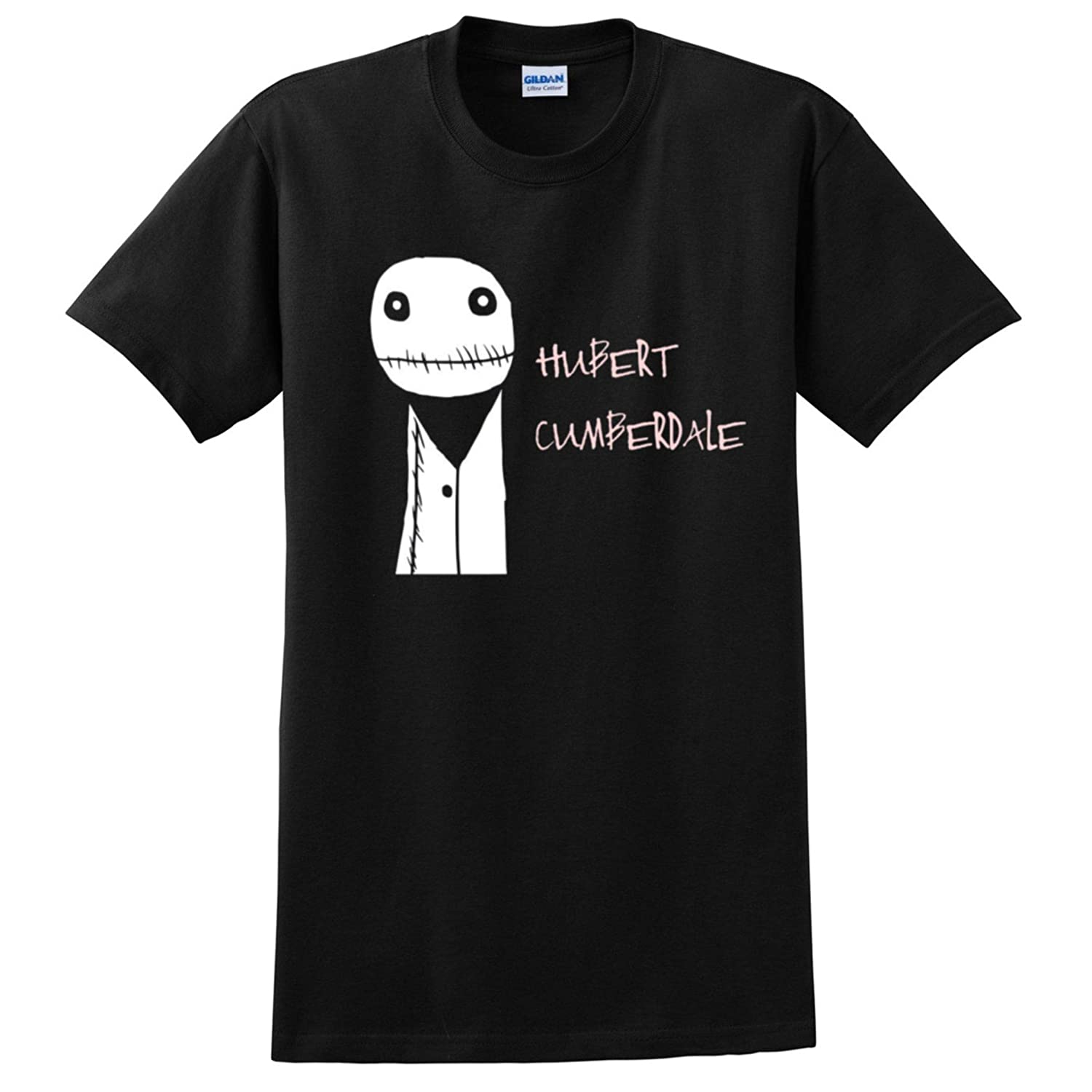 e33d781659be Fabric London Salad Fingers Hubert Cumberdale T-Shirt Black: Amazon.co.uk:  Clothing