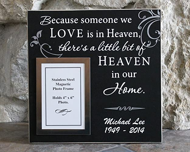 Amazoncom 12x12 Because Someone We Love Is In Heaven Theres A
