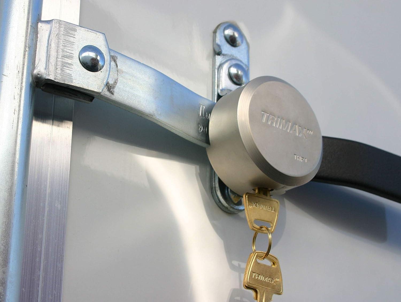 Rekeyable Trimax THPXL Hockey Puck Internal Shackle Trailer Door Lock