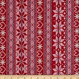 Fabric Merchants Cotton Jersey Knit Nordic Print