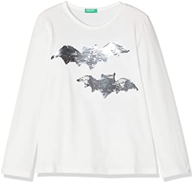 United Colors of Benetton T-Shirt L//S Unisex-Bimbi