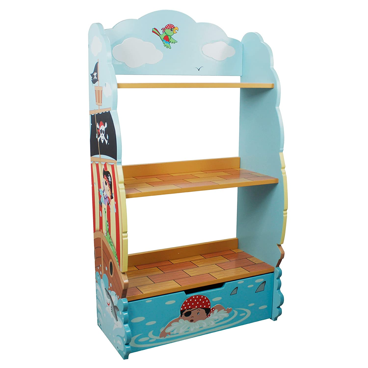 wooden original amazon and kids front the display children baby bookcase alphabet bookcases with com book facing dp
