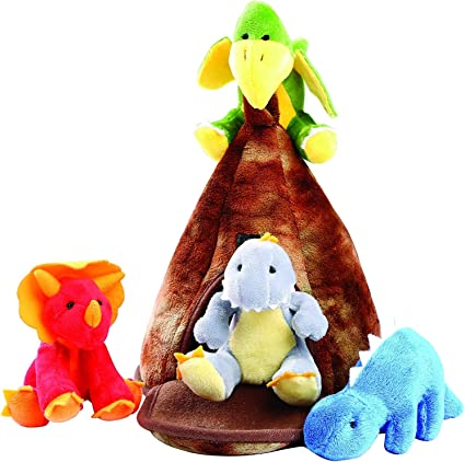 Animal House Noah/'s Ark Plush Animals Sound Toys With CarrierPlush Animal Toy