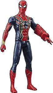 "Avengers Marvel Titan Hero Series Iron Spider 12""-Scale Super Hero Action Figure with Titan Hero Power Fx Port"
