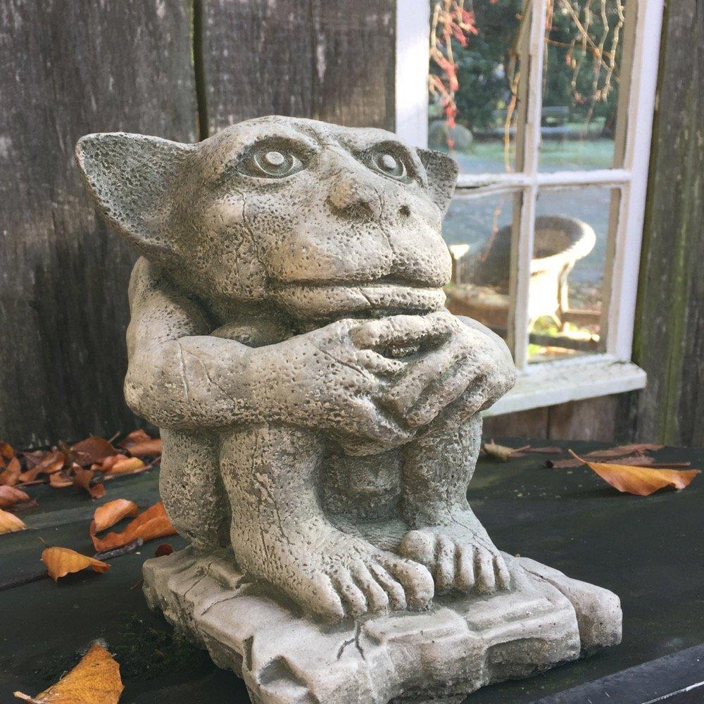 /Figurine Gargouille m/édi/évale Gargouille dragon W/ächter D/émons /Églises Figurines antikas/