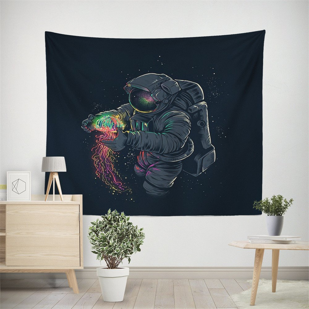 Weiliru Tapestry Wall Hanging Psychedelic Wall Tapestry Bohemian Mandala Hippie Tapestry for Bedroom Living Room Dorm